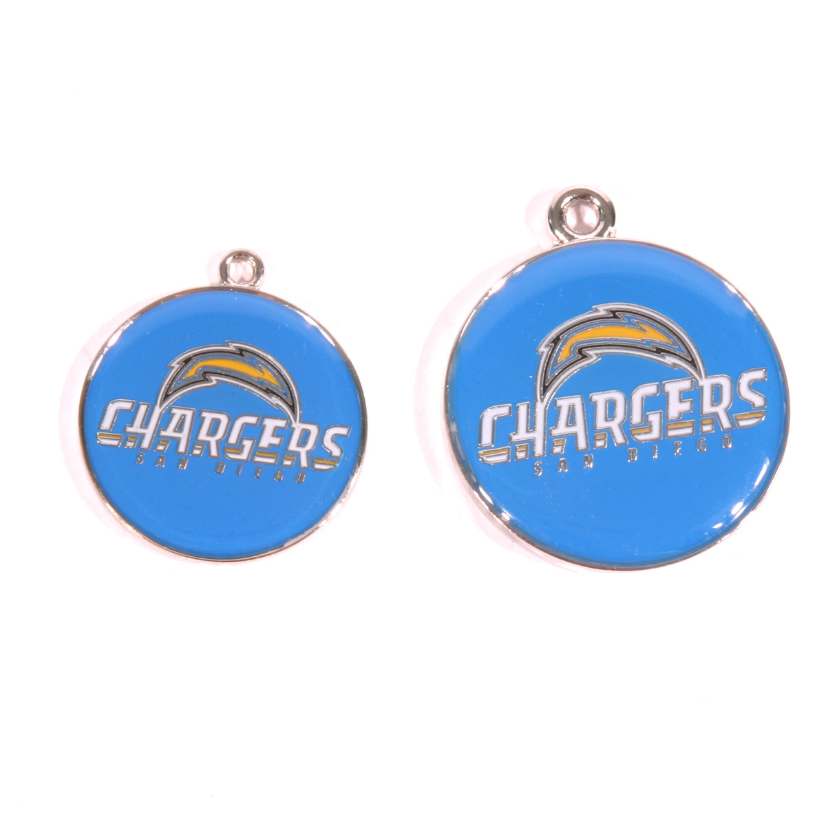 San Diego Chargers Engraved Pet ID Tag
