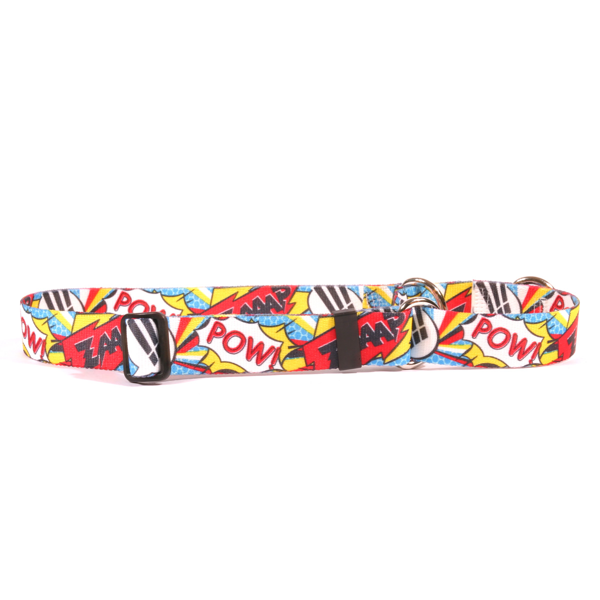 Comic Print Martingale Collar