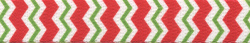 Peppermint Stick Chevron Stripes