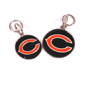 Chicago Bears Engraved Pet ID Tag