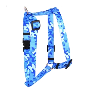 Camo Blue Roman H Harness