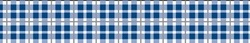 Preppy Plaid Blue Standard Collar