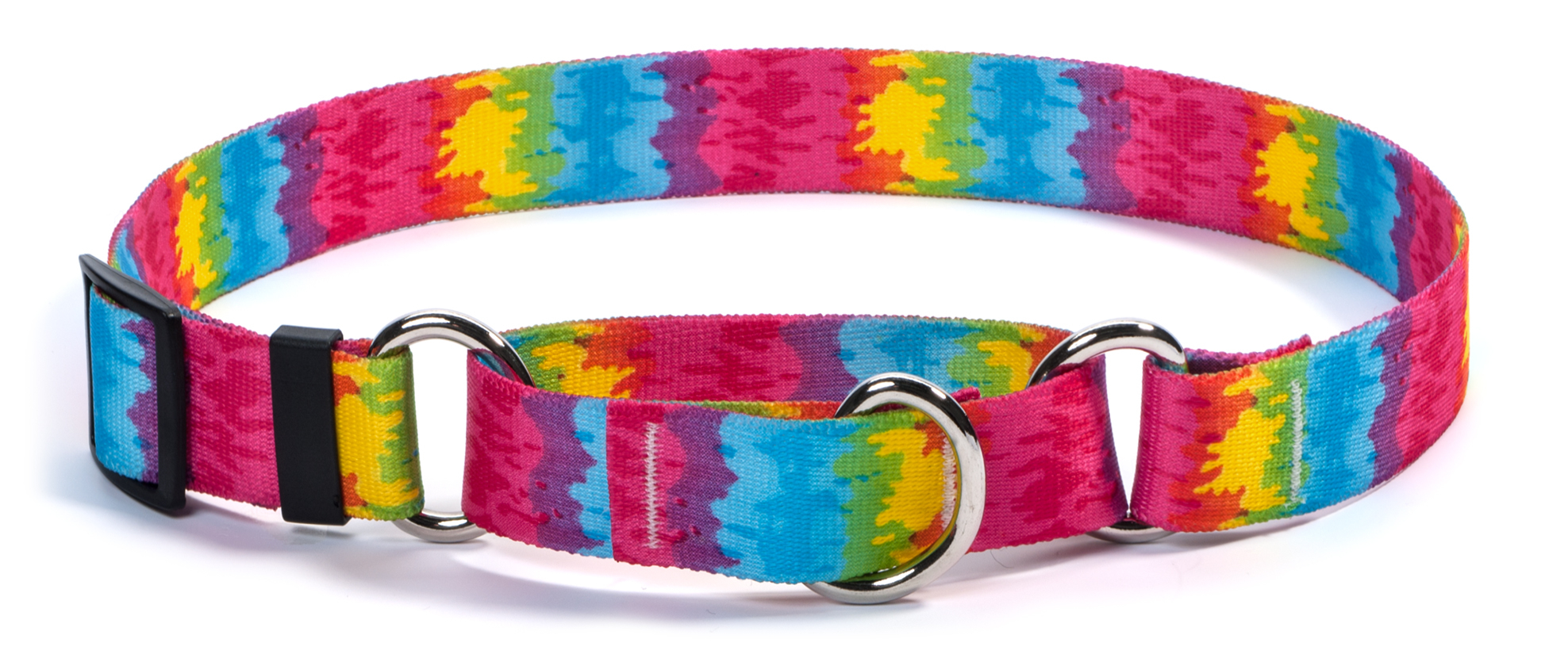 Tie-Dye Martingale Collar