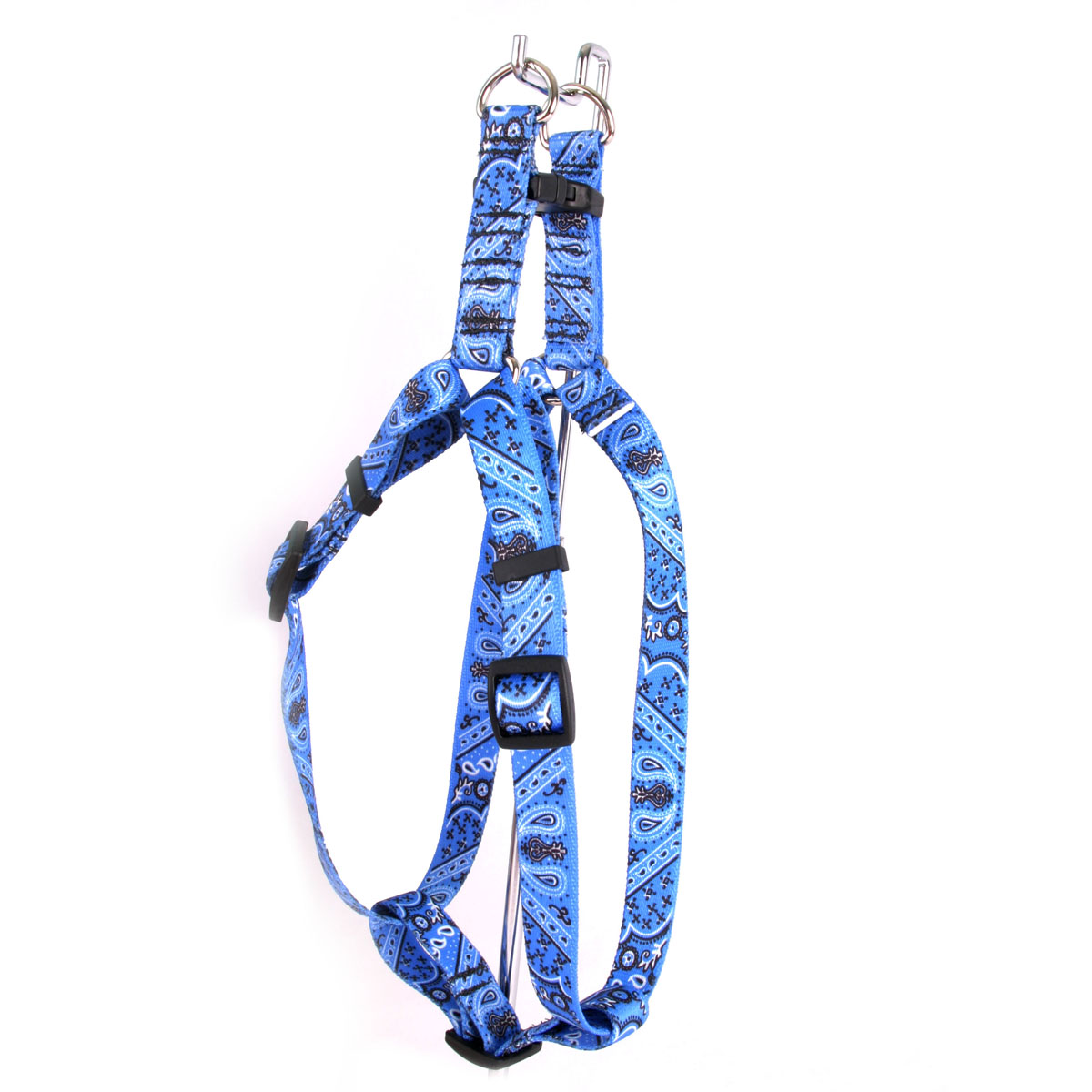Bandana Blue Step-In Harness