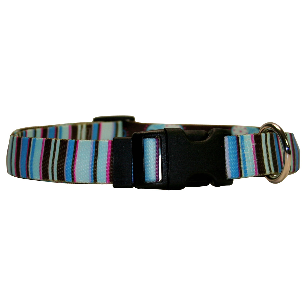 Brown Stripes Standard Collar