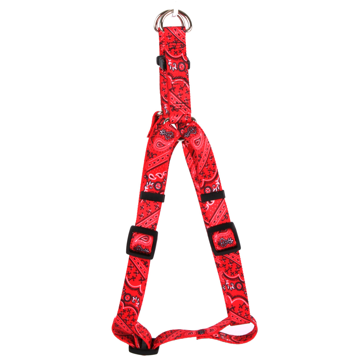 Bandana Red Step-In Harness