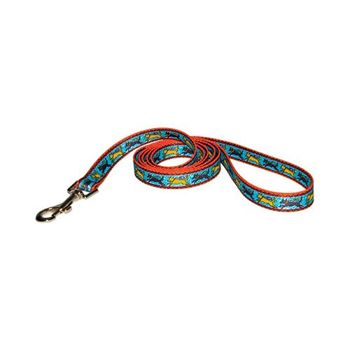 Black and Yellow Dog Lead