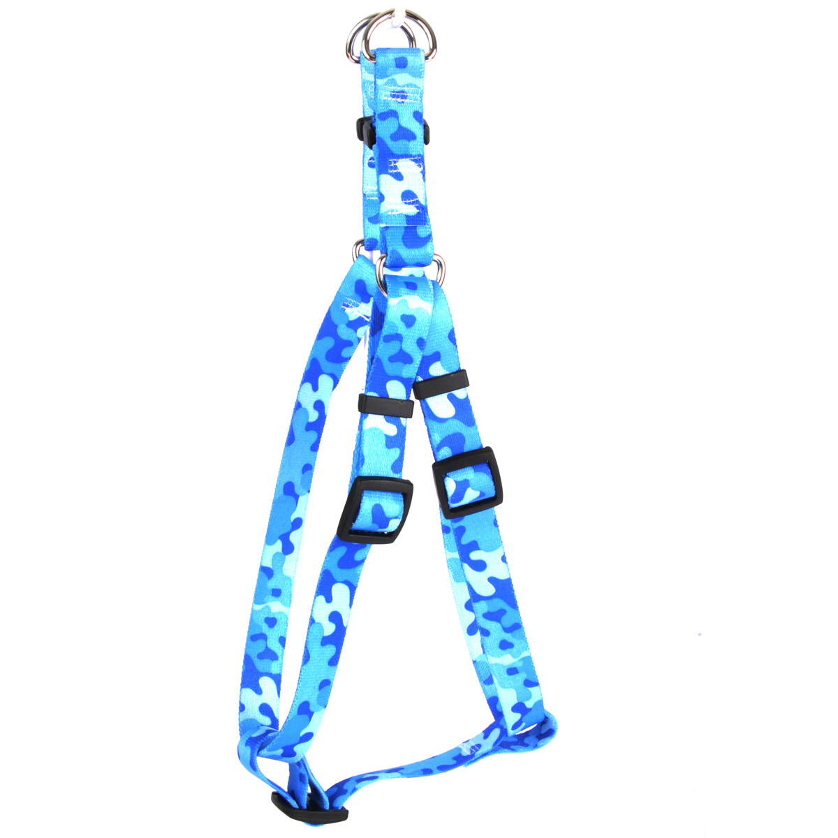 Camo Blue Step-In Harness