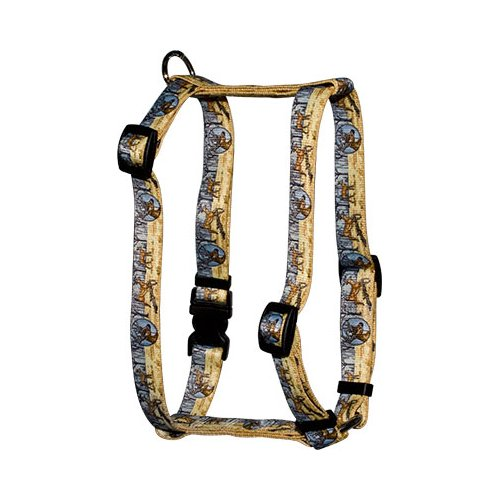Deer Print Roman H Harness
