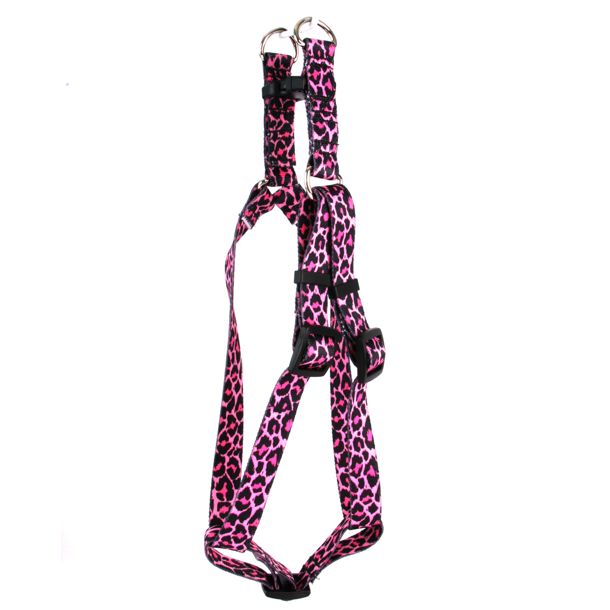 Leopard Pink Step-In Harness