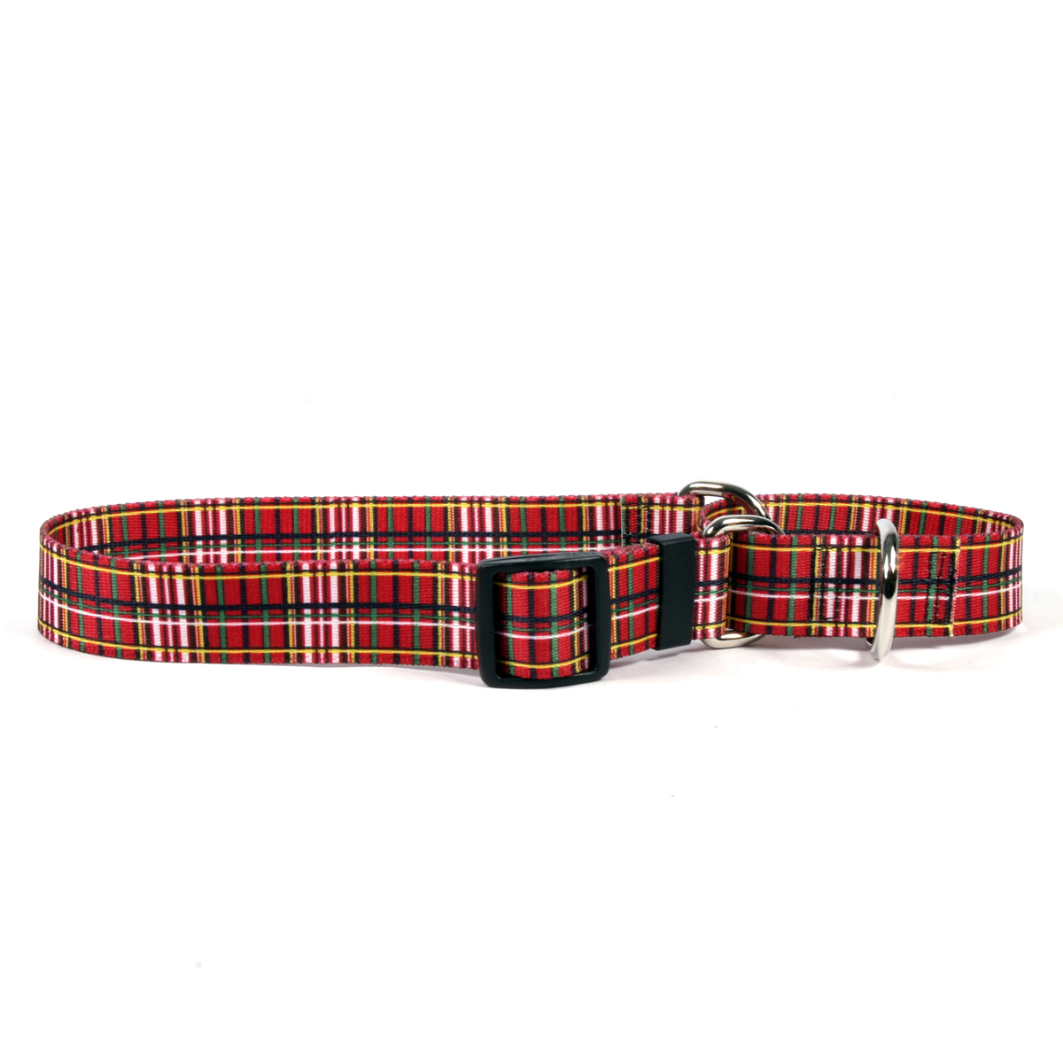 Tartan Red Martingale Collar