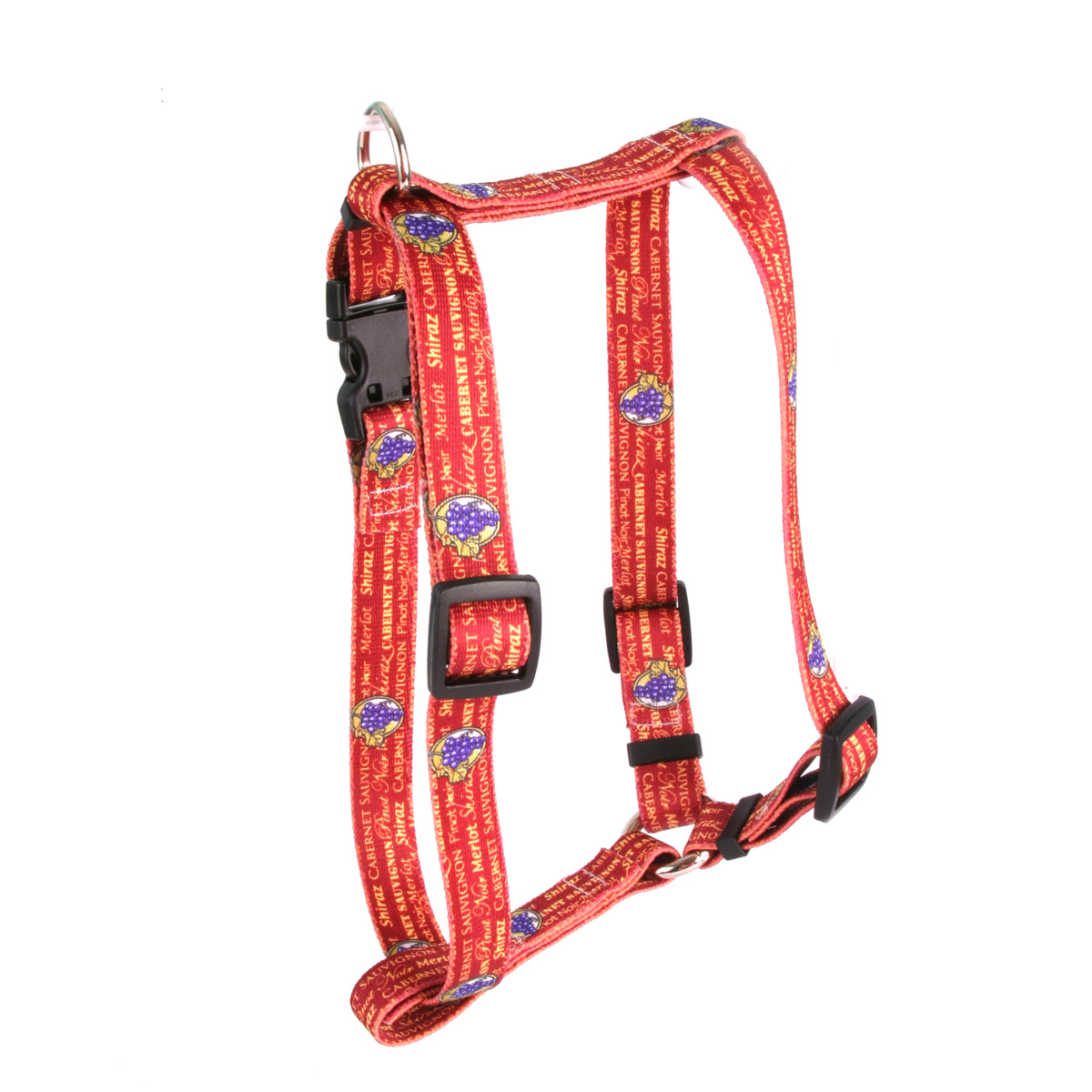 Red Wine Roman H Harness