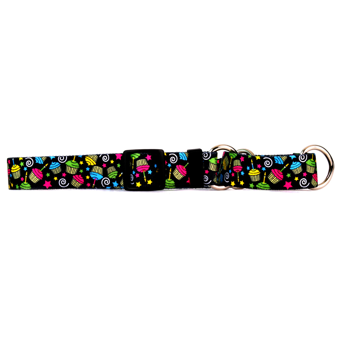 Cupcakes Martingale Collar