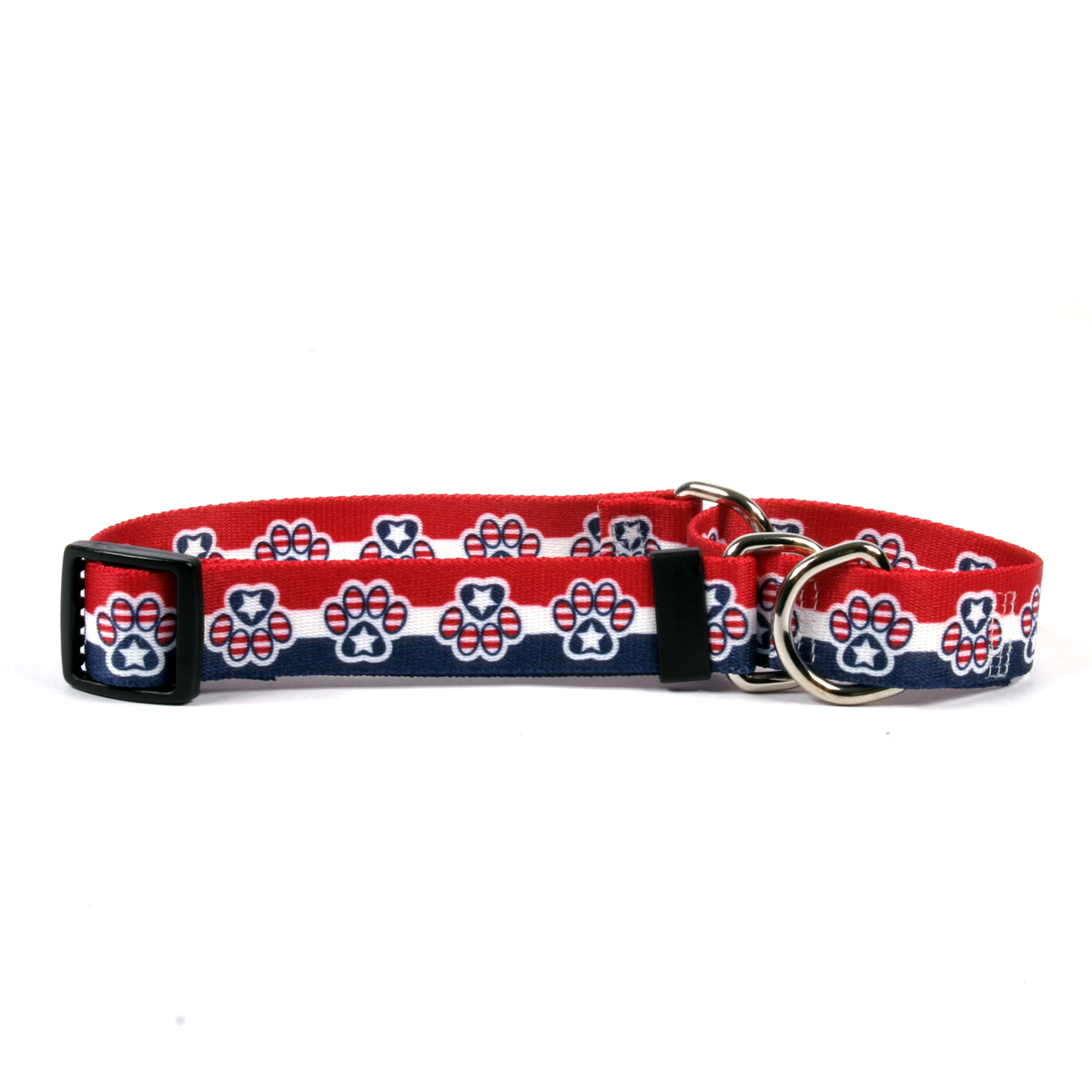 Patriotic Paws Martingale Collar