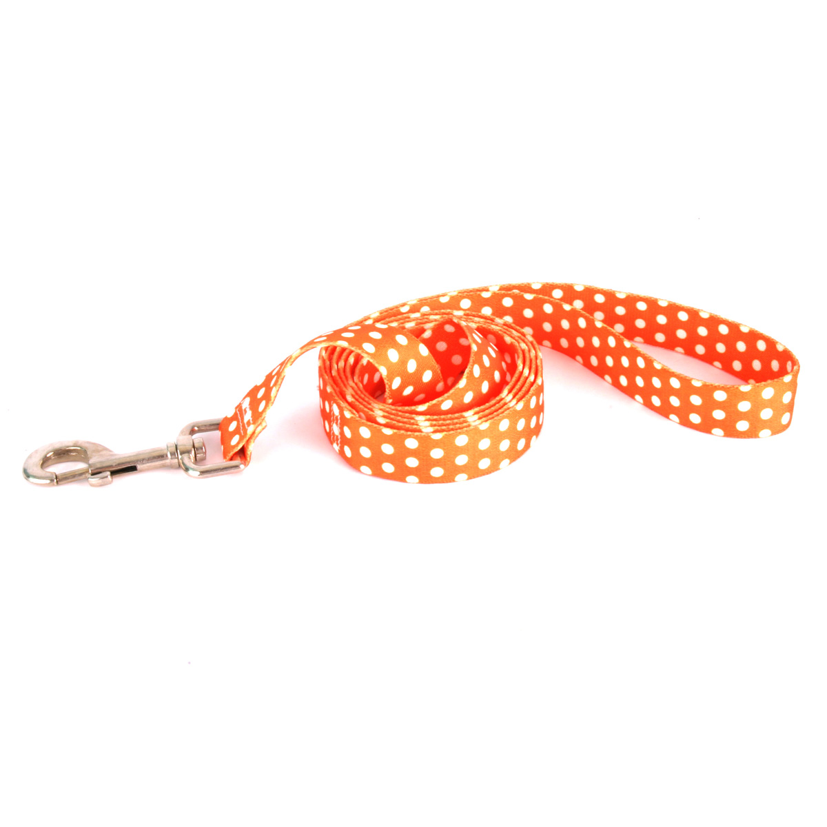 Orange Polka Dot Lead