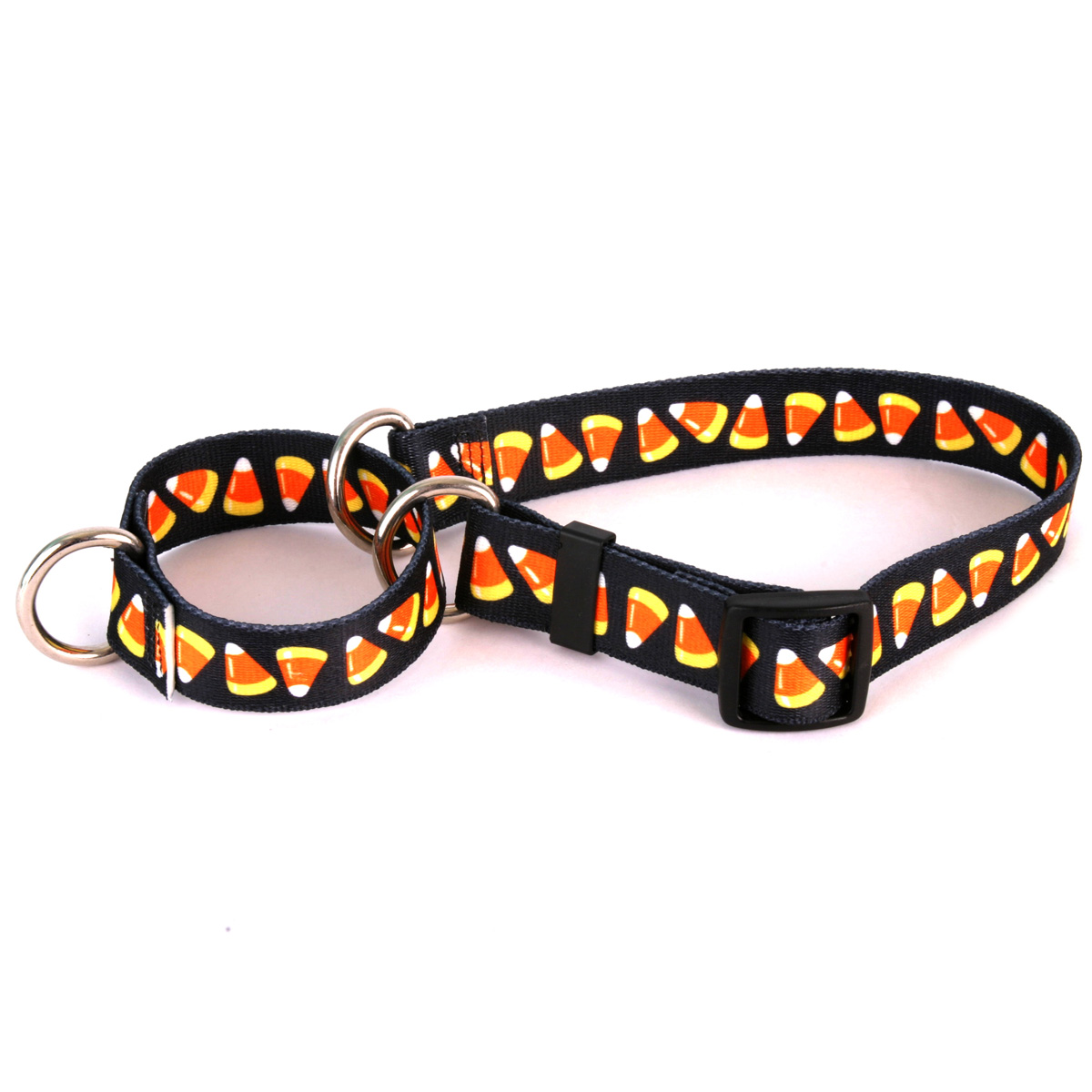 Candy Corn Martingale Collar