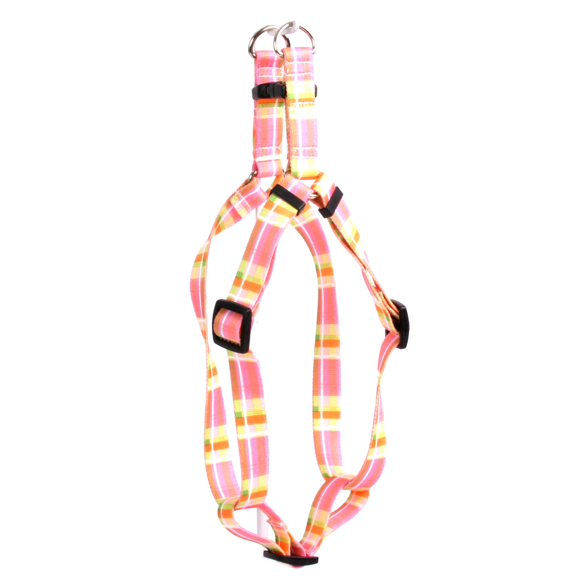 Madras Pink Step-In Harness