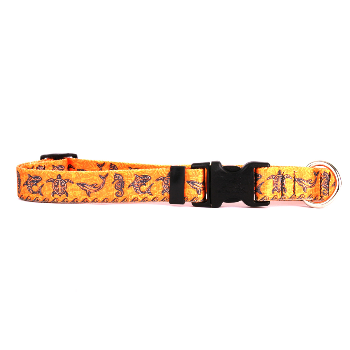 Tribal Seas Orange Standard Collar