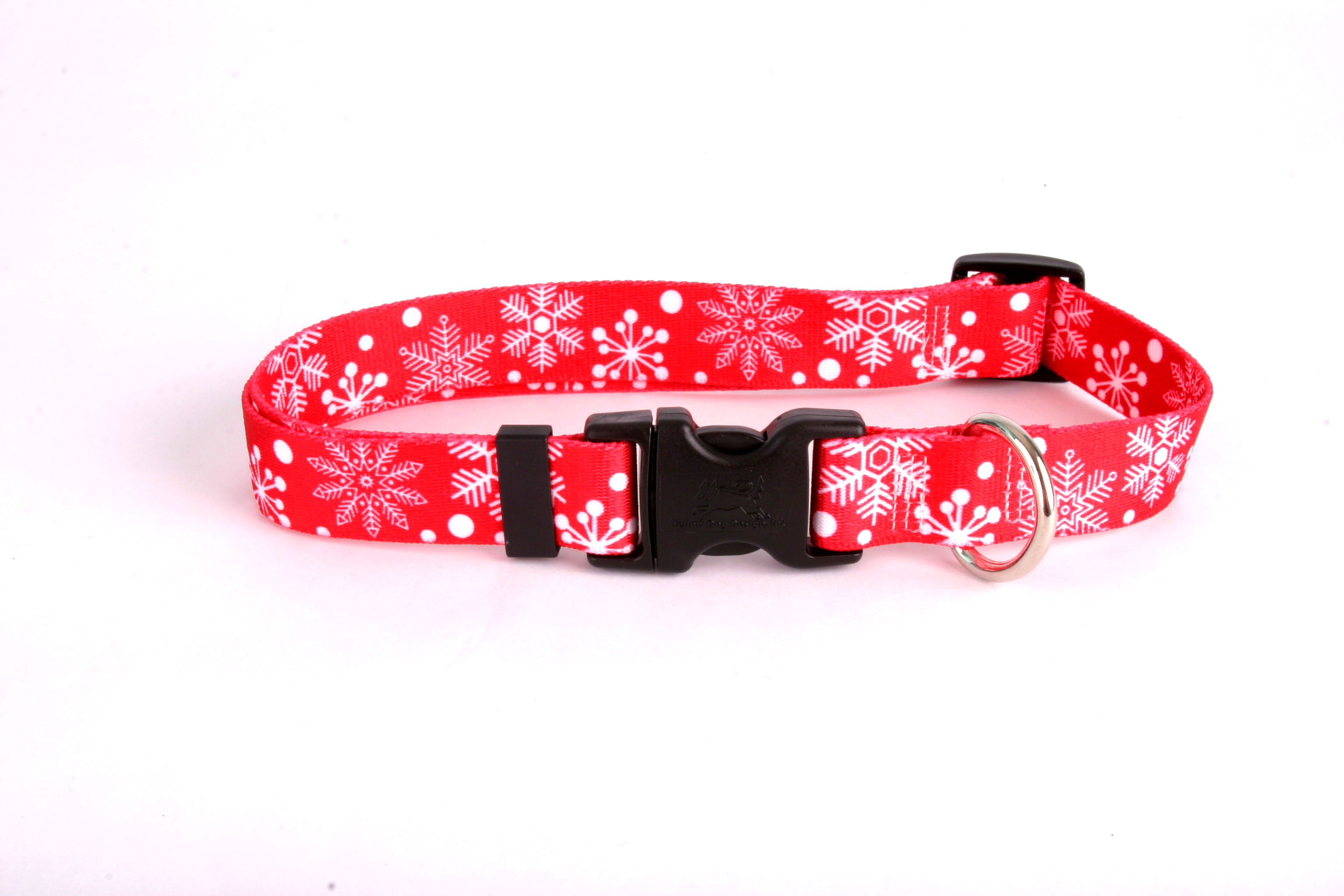 Red Snowflakes Standard Collar