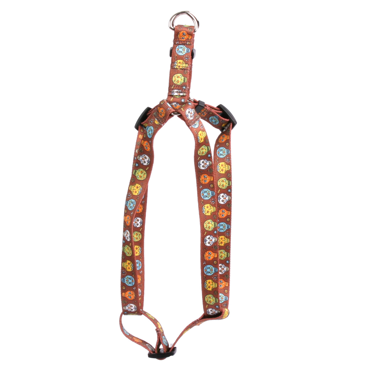 Candy Skulls Step-In Harness