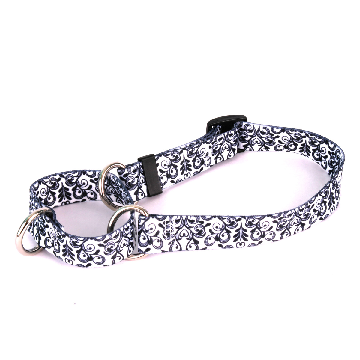 Damask Martingale Collar
