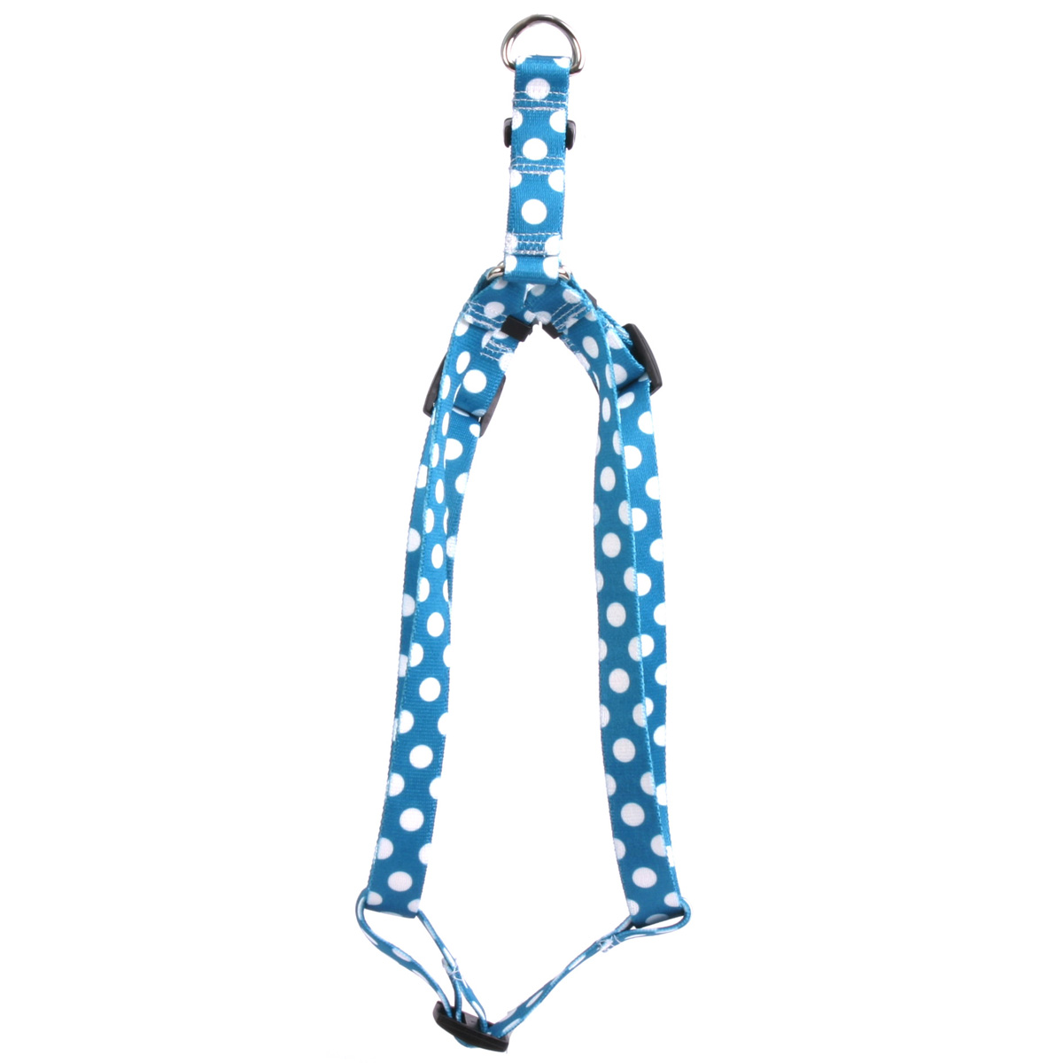 Blueberry Polka Dot Step-In Harness