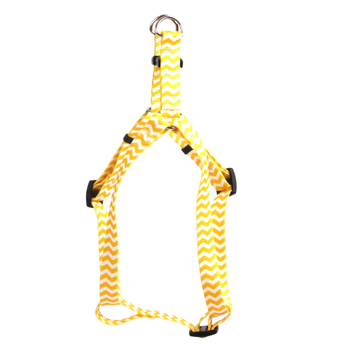 Chevron - Lemon Step-In Harness