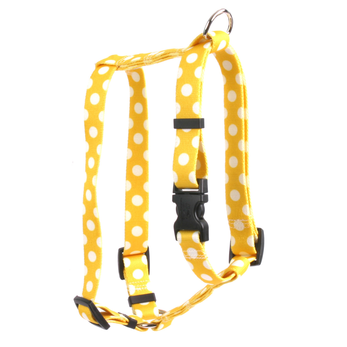 Lemon Polka Dot Roman H Harness