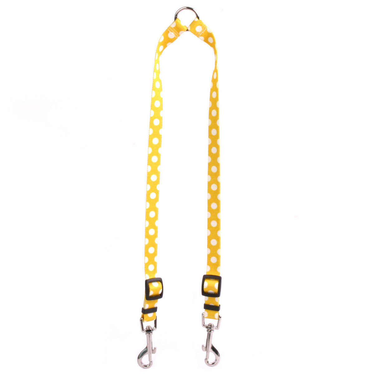 Lemon Polka Dot Coupler Lead