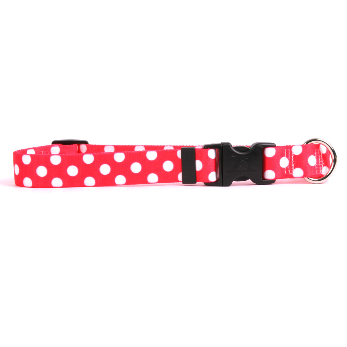 Strawberry Polka Dot Standard Collar
