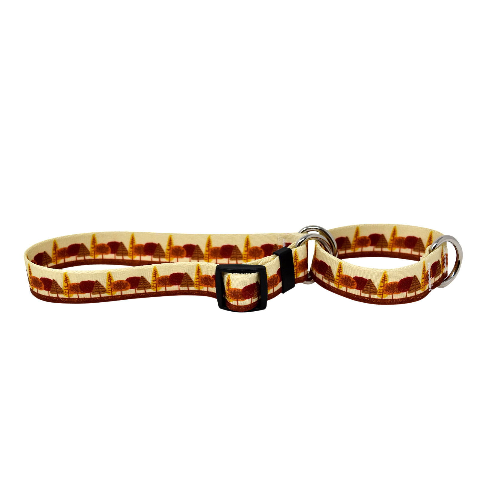 Autumn Trees Martingale Collar