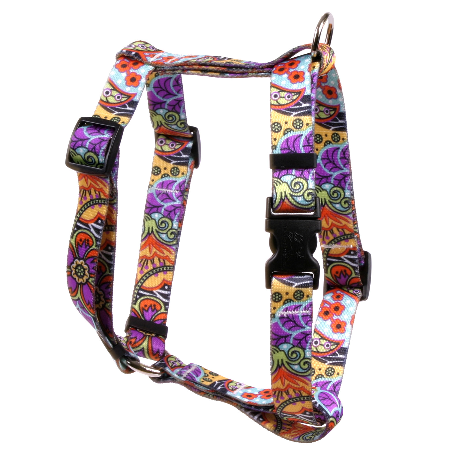 Amazon Floral Roman H Harness