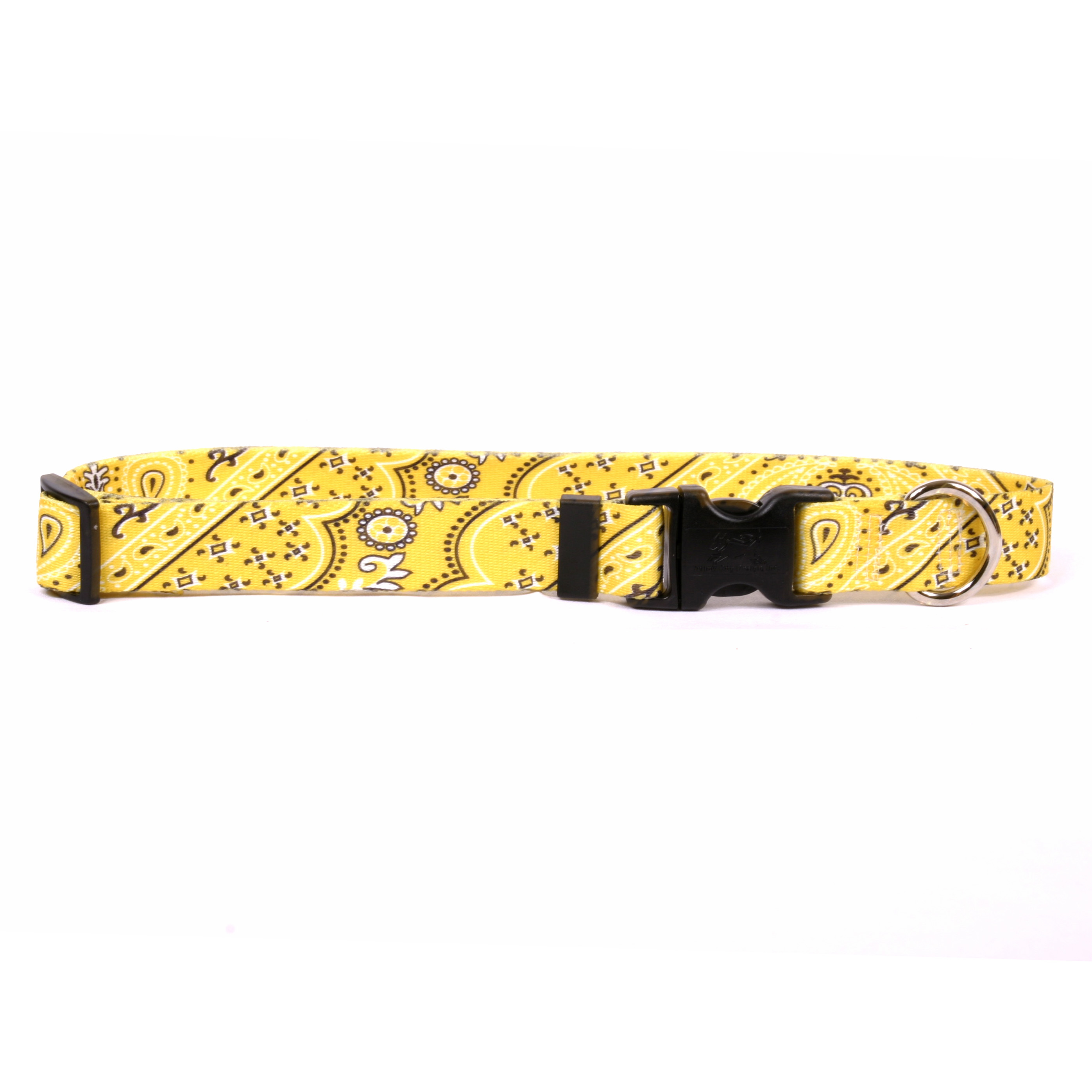 Bandana Yellow Standard Collar