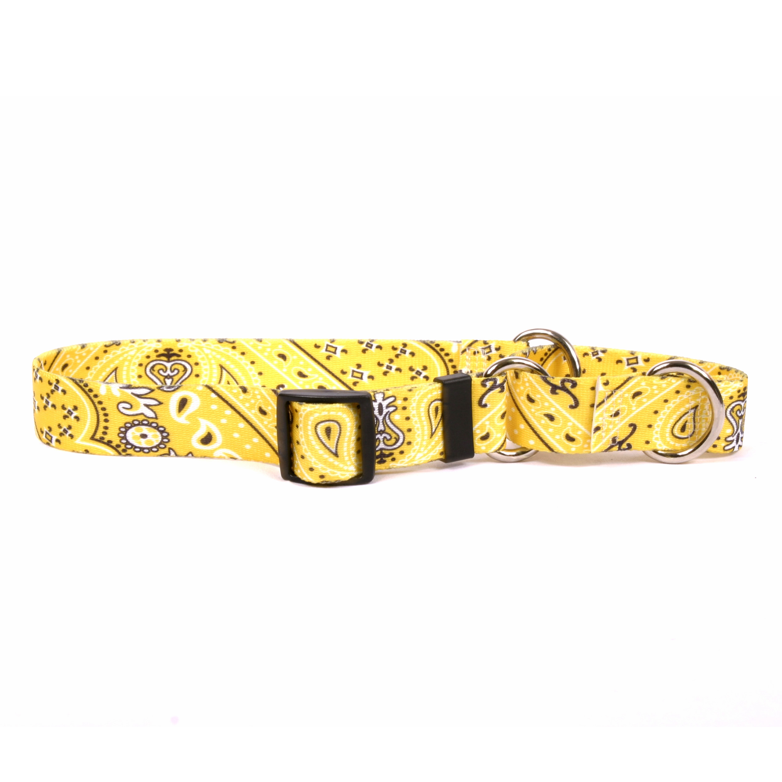 Bandana Yellow Martingale Collar