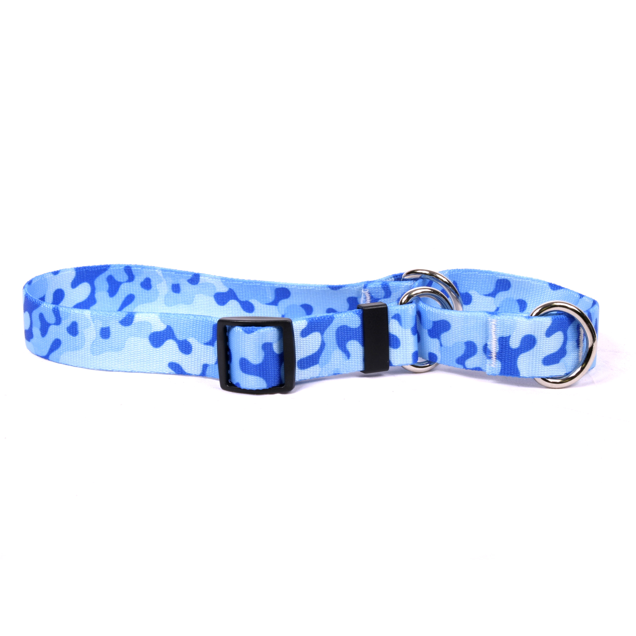 Camo Blue Martingale Collar