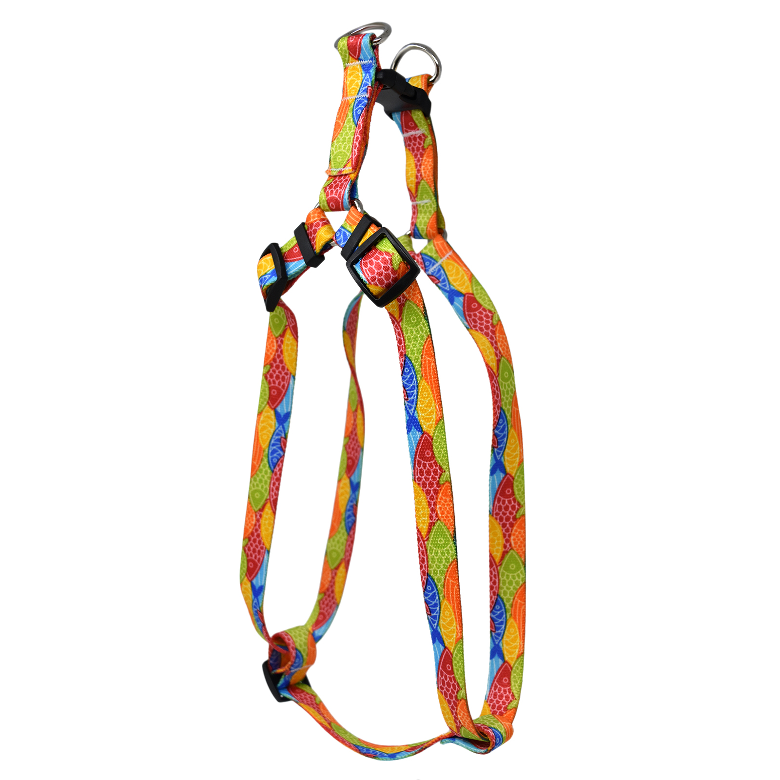 Colorful Fish  Step-In Harness