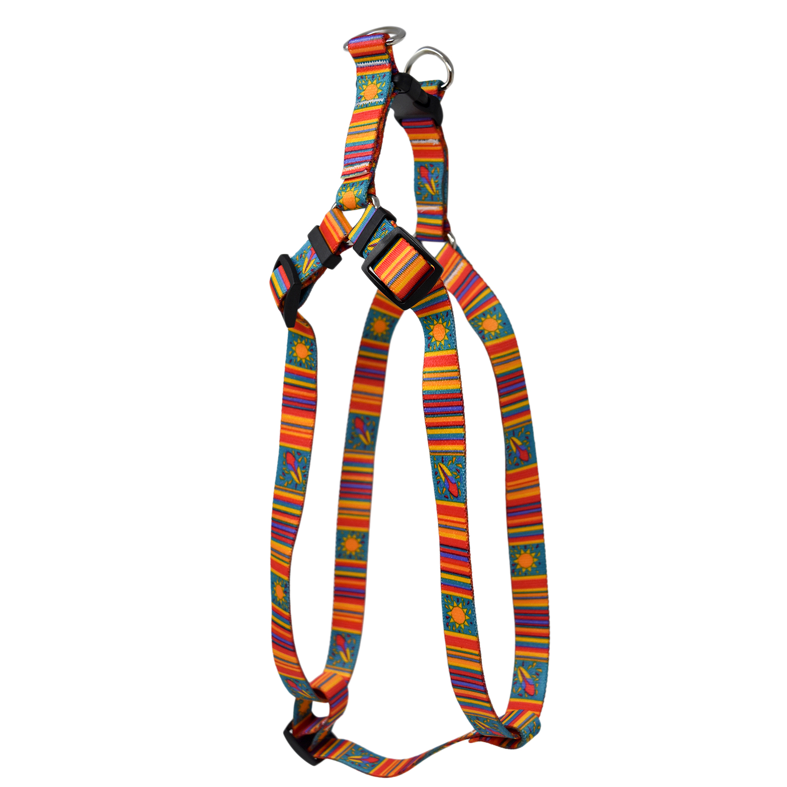 Coastal Stripes  Step-In Harness