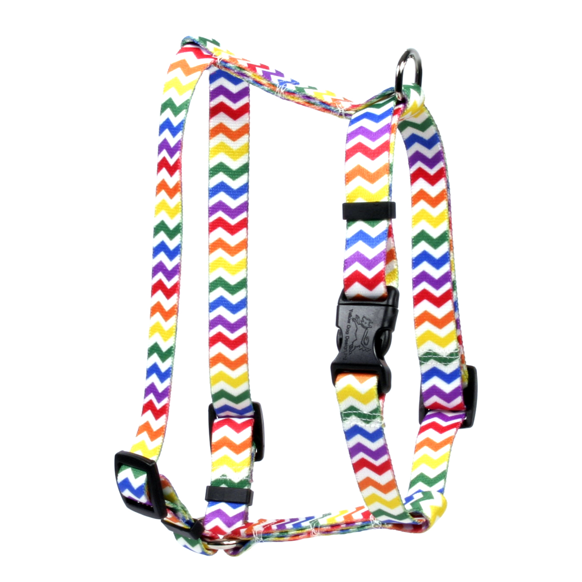Candy Stripe Chevron Roman H Harness
