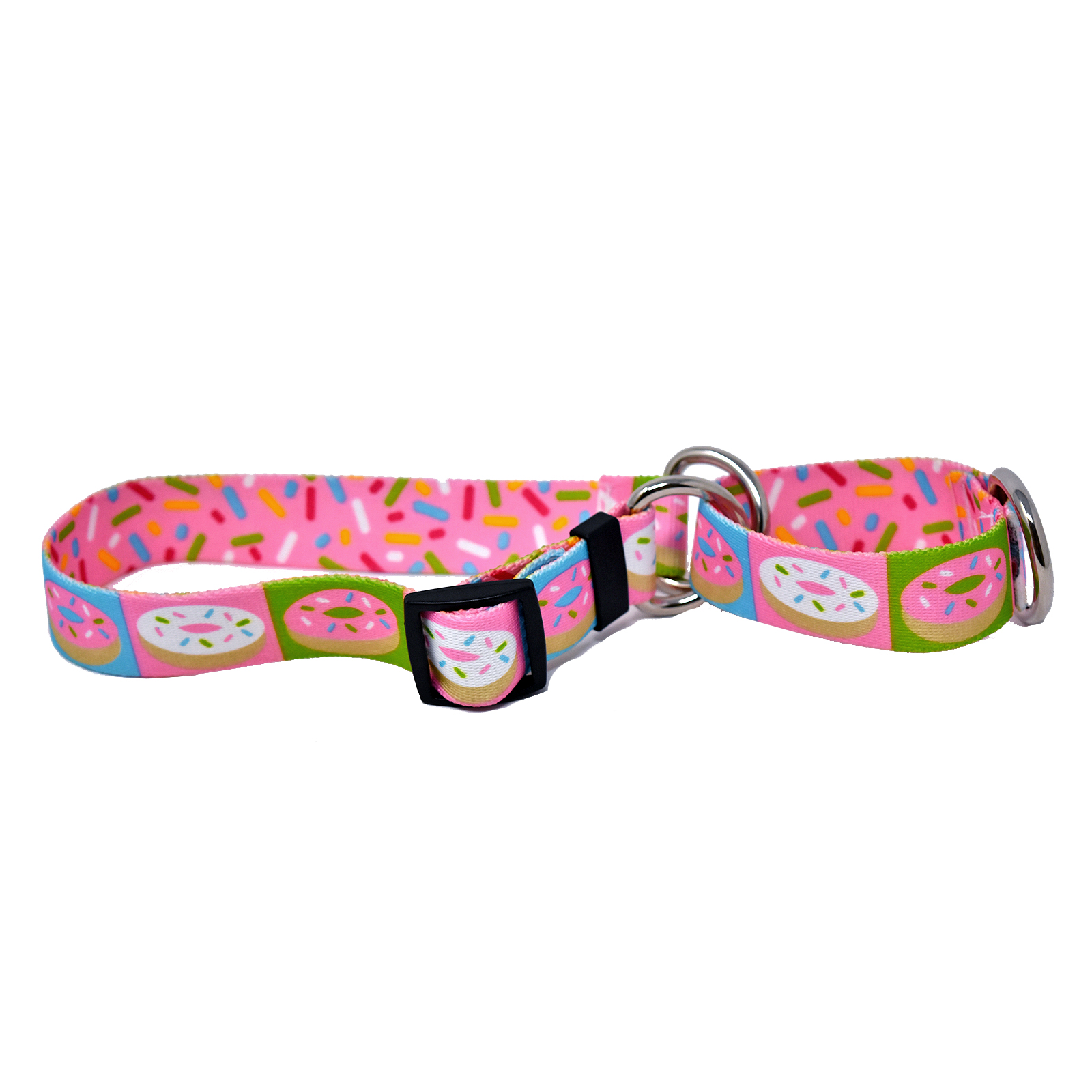 Donuts and Sprinkles Martingale Collar