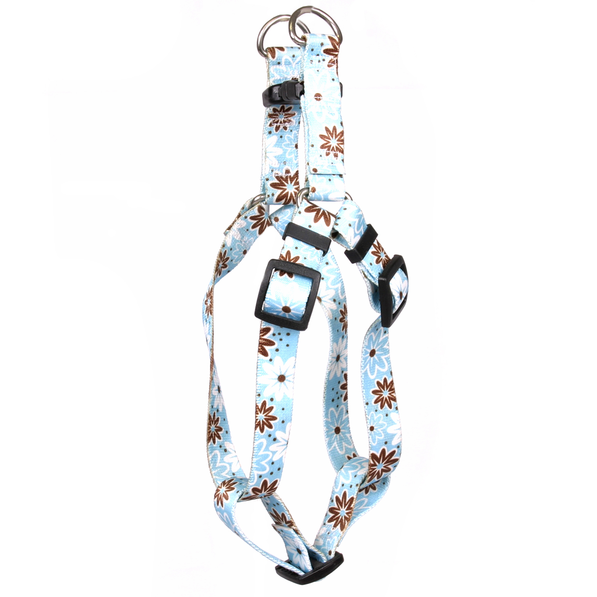 Daisy Chain Blue Step-In Harness
