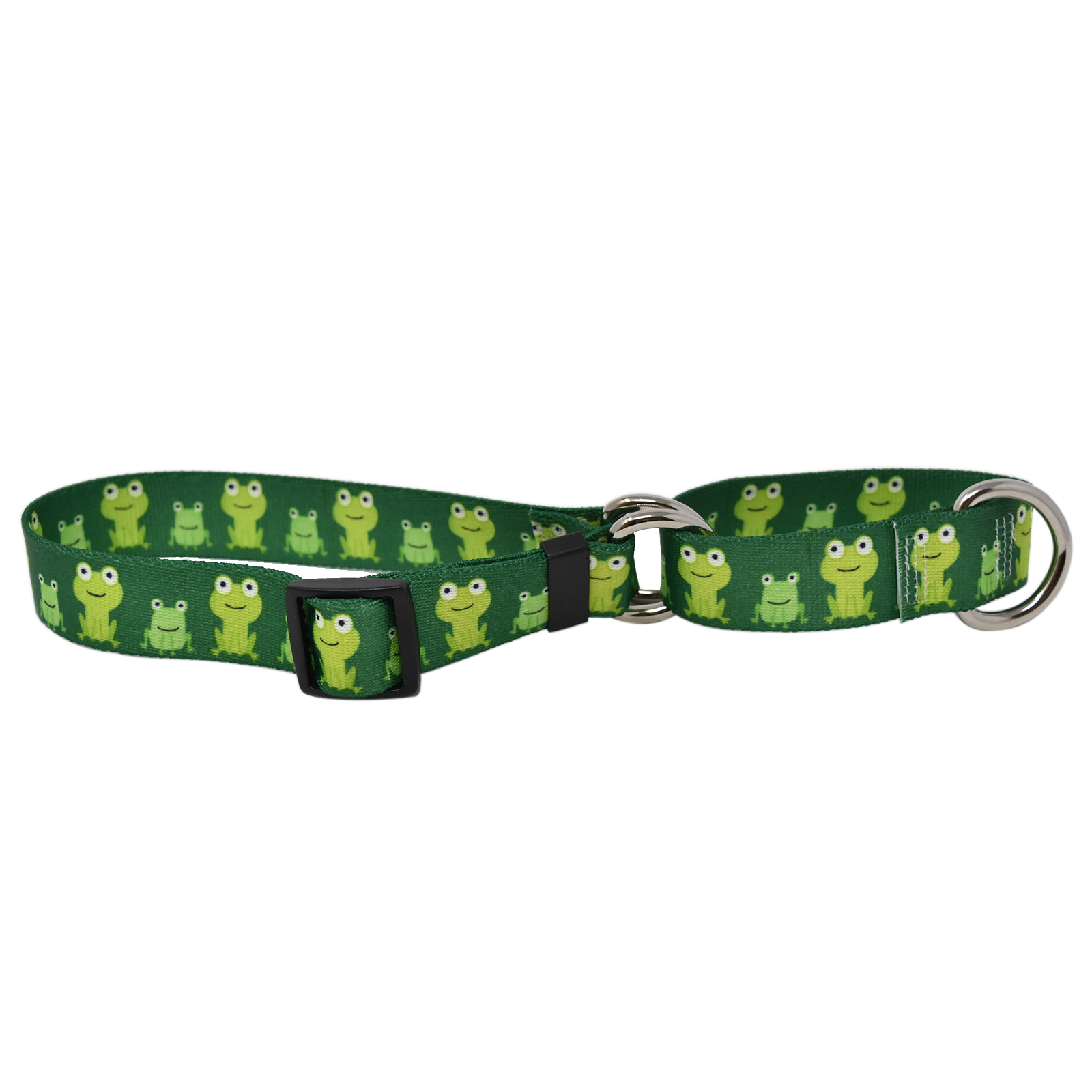 Frog Frenzy Martingale Collar
