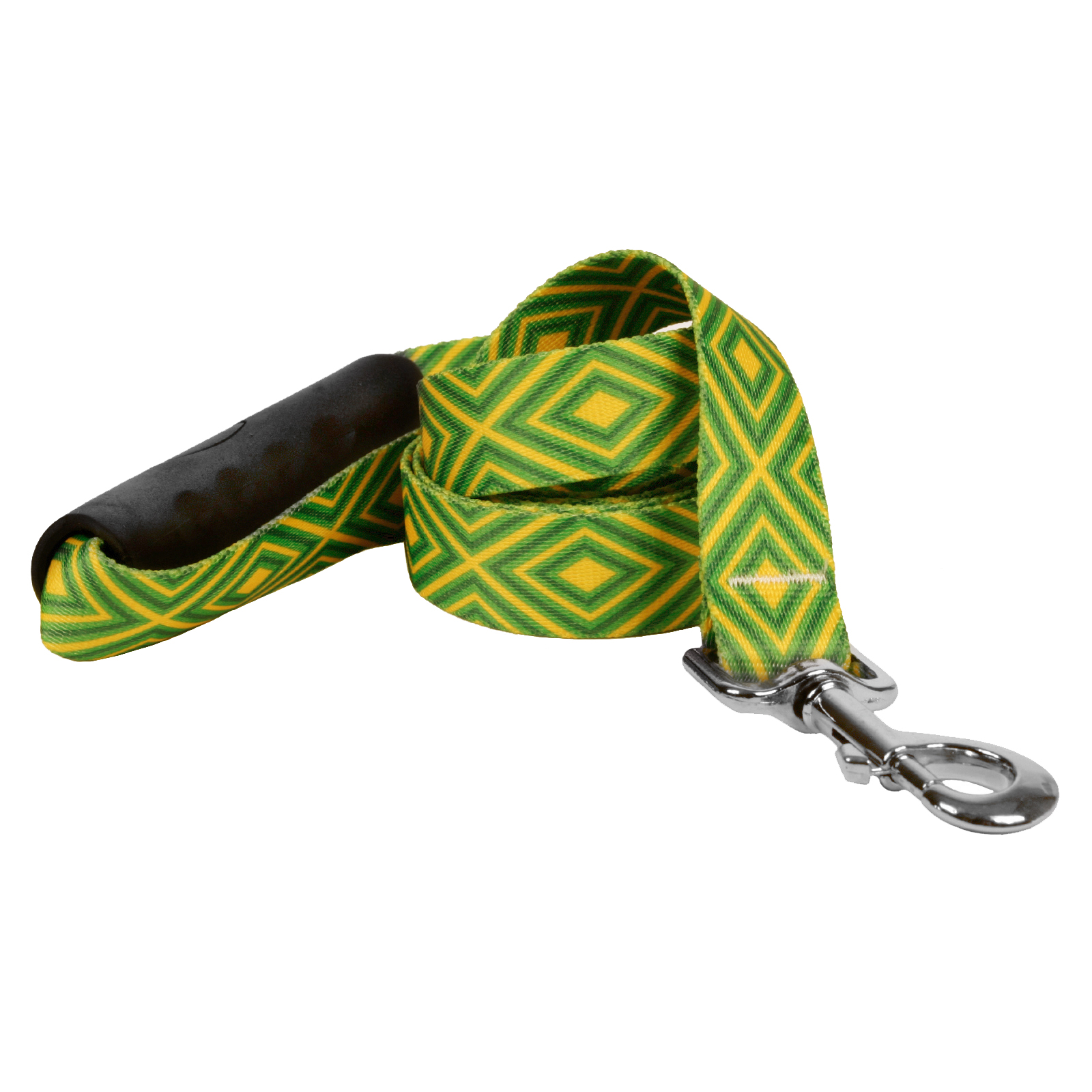 Green and Gold Geometric EZ-Lead