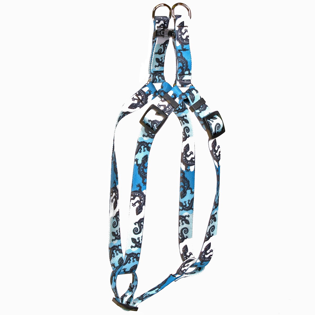 Geckos Teal Step-In Harness