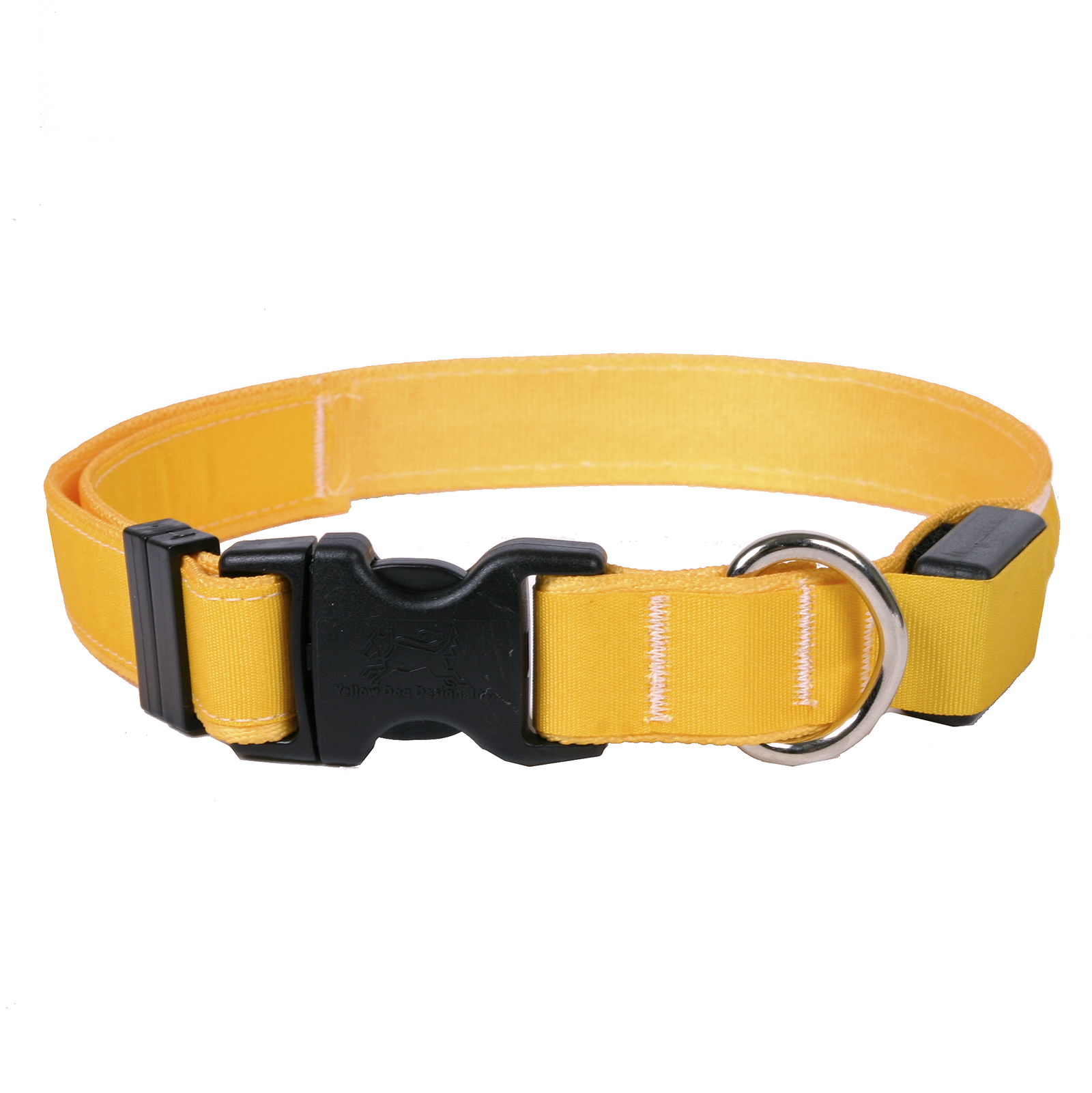 Solid Goldenrod ORION LED Dog Collar
