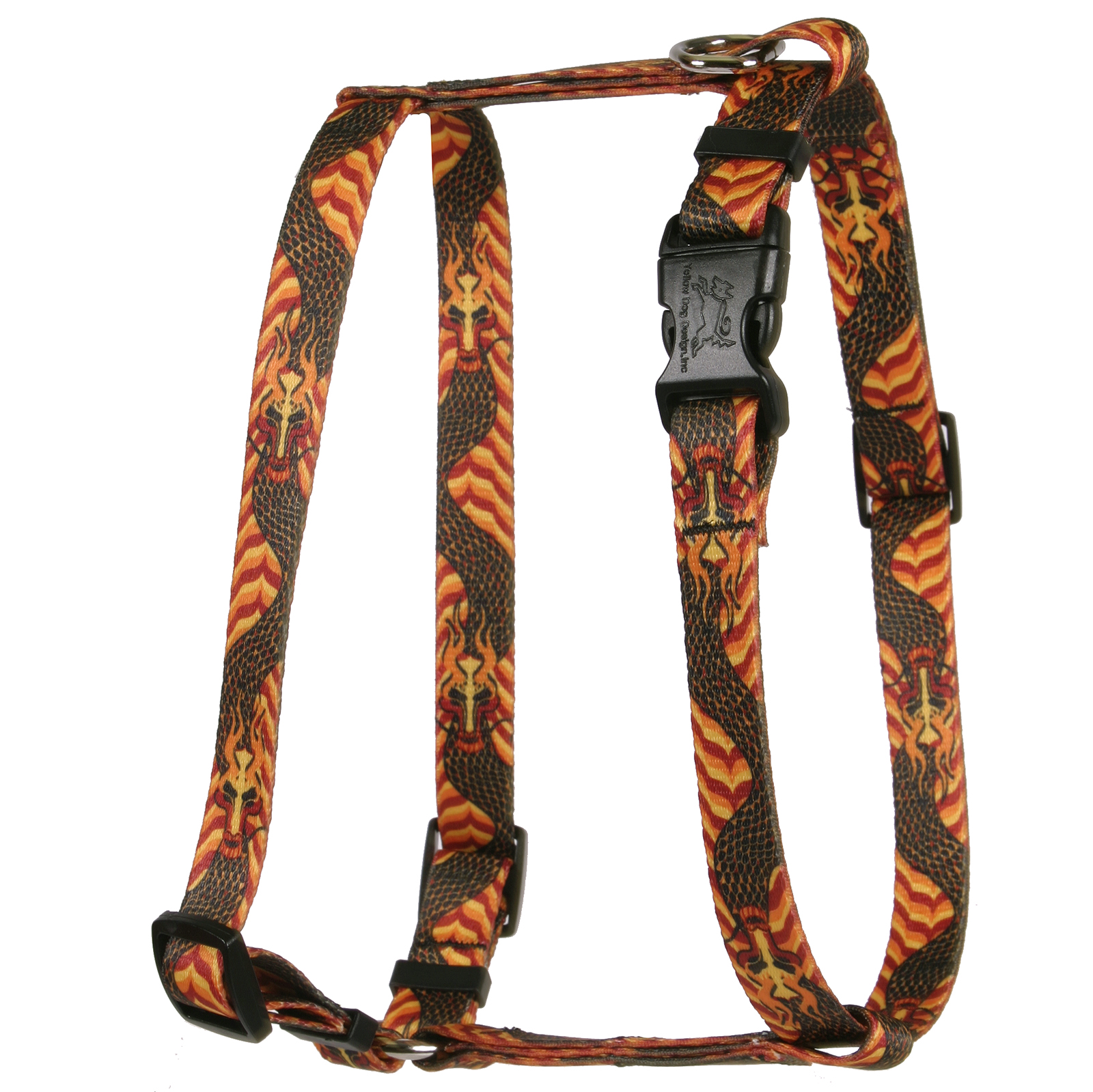 Dragon Wave Orange Roman H Harness