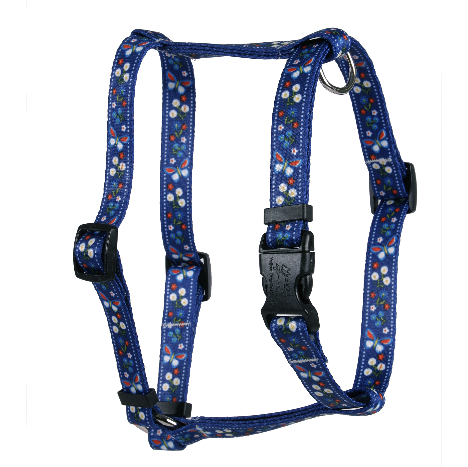 Festive Butterfly Blue Roman H Harness