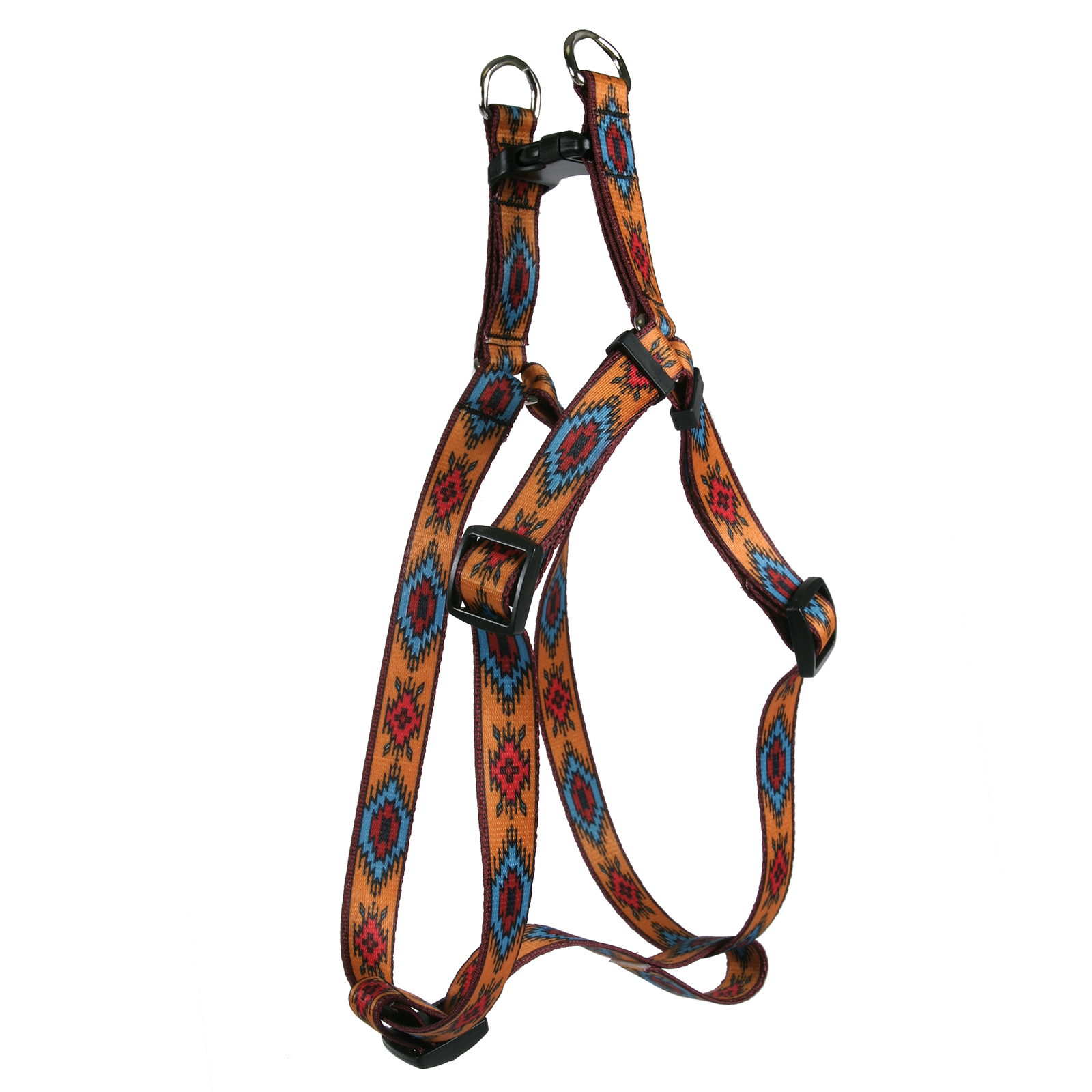 Indian Spirit Orange Step-In Harness