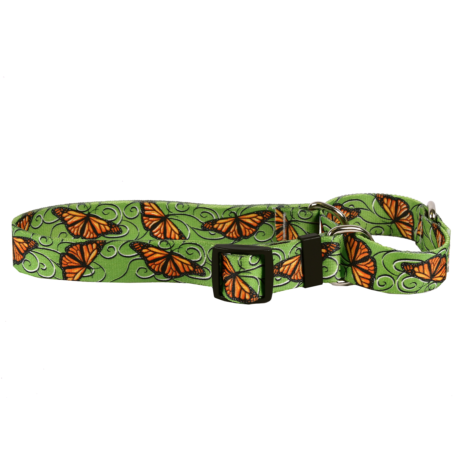 Monarch Swirl Martingale Collar