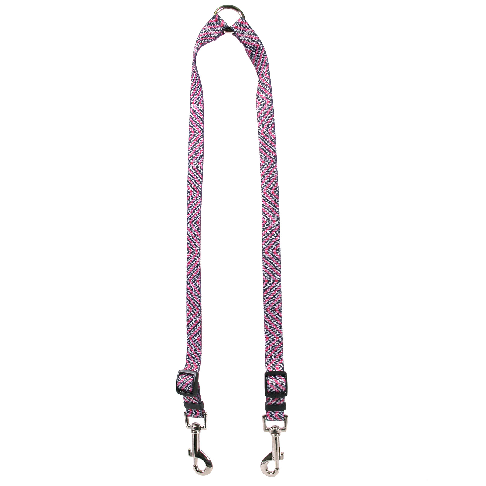 Pink Tweed Coupler Lead