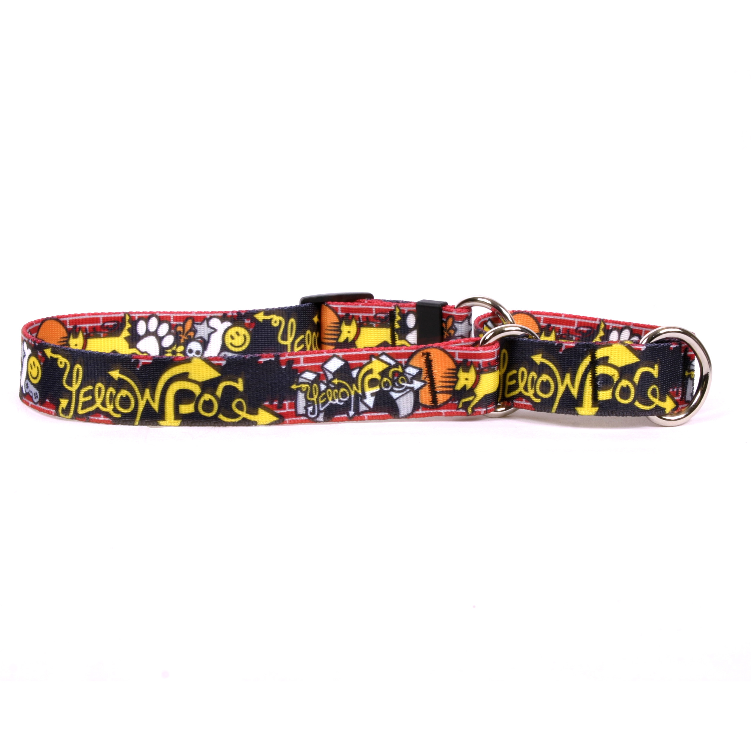 Graffiti Dog Martingale Collar